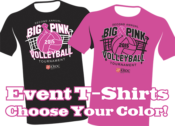 Marketing Ideas - Big Pink Volleyball